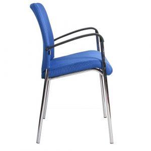 Офисный стул для посетителей Amigo Lux синий купить в Бресте, Минске, РБ у производителя БЕЛС
