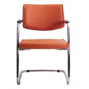 Стул офисный Delta PA Chrome оранжевый купить в Бресте у производителя БЕЛС