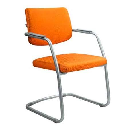 Стул офисный Delta silver оранжевый купить в Бресте у производителя БЕЛС