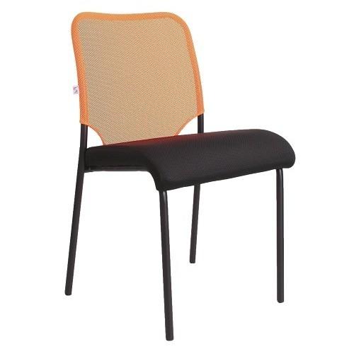 Стул офисный Amigo Black черный с оранжевым купить в Бресте у производителя БЕЛС