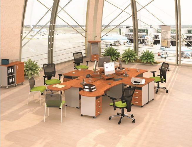 БОСТОН - серия офисной мебели - интерьер №1 купить в Бресте у производителя БЕЛС