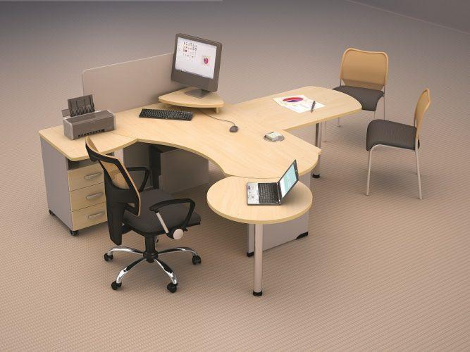 БОСТОН - серия офисной мебели - интерьер №10 купить в Бресте у производителя БЕЛС