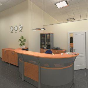 БОСТОН - серия офисной мебели - интерьер №12 купить в Бресте у производителя БЕЛС