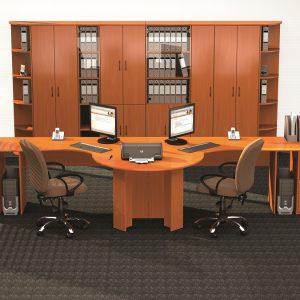 КЛАССИК - серия офисной мебели - интерьер №1 купить в Бресте у производителя БЕЛС