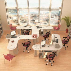 КЛАССИК - серия офисной мебели - интерьер №2 купить в Бресте у производителя БЕЛС
