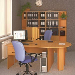 КЛАССИК - серия офисной мебели - интерьер №4 купить в Бресте у производителя БЕЛС