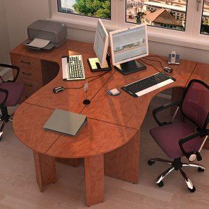 КЛАССИК - серия офисной мебели - интерьер №5 купить в Бресте у производителя БЕЛС