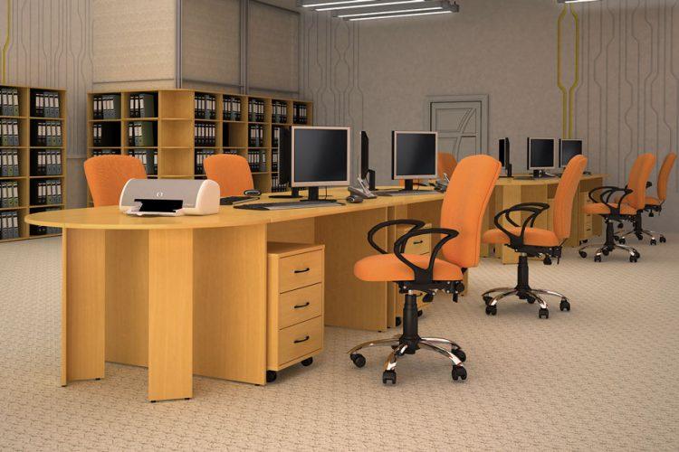 КЛАССИК - серия офисной мебели - интерьер №6 купить в Бресте у производителя БЕЛС