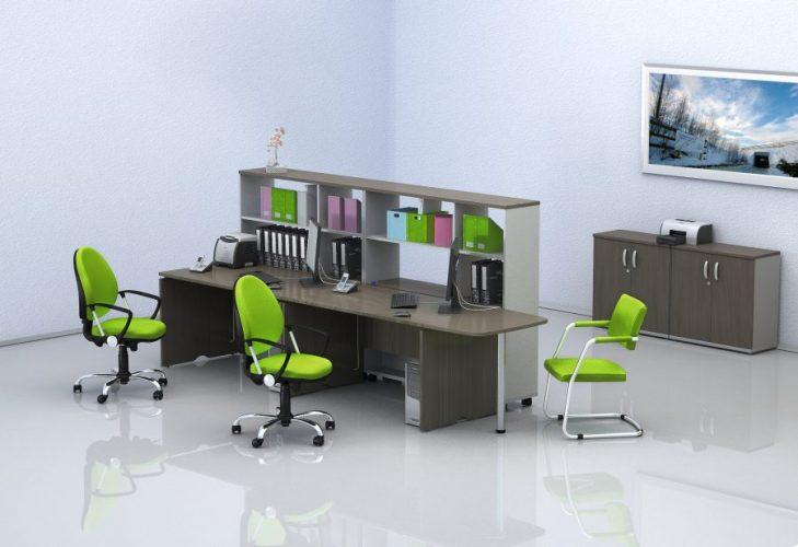 МИЛАН - серия офисной мебели - интерьер №10 купить в Бресте у производителя БЕЛС