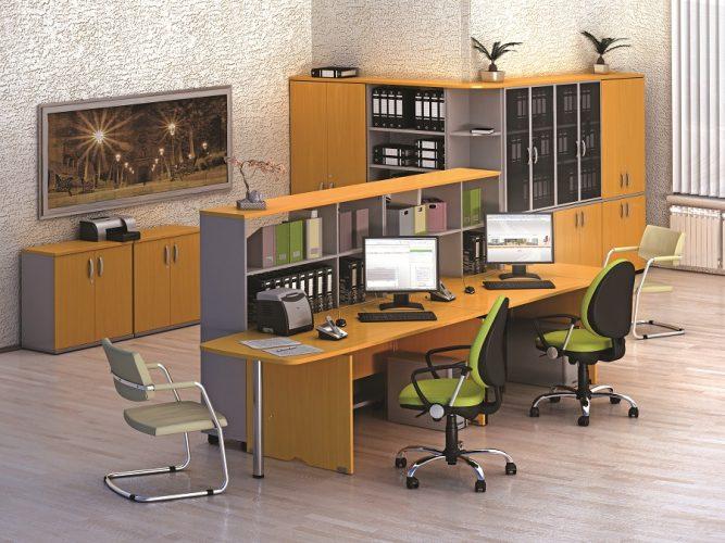 МИЛАН - серия офисной мебели - интерьер №4 купить в Бресте у производителя БЕЛС