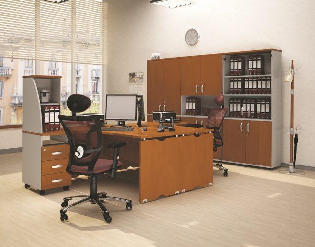 МИЛАН - серия офисной мебели - интерьер №6 купить в Бресте у производителя БЕЛС