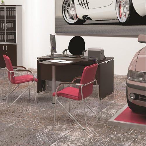 МИЛАН - серия офисной мебели - интерьер №7 купить в Бресте у производителя БЕЛС