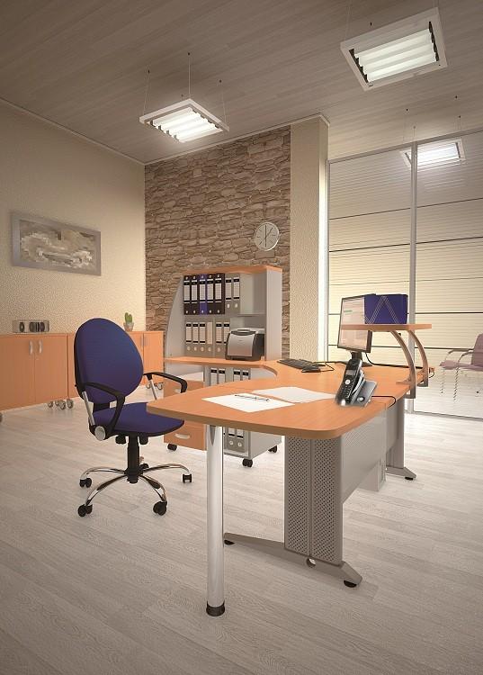МИЛАН - серия офисной мебели - интерьер №8 купить в Бресте у производителя БЕЛС