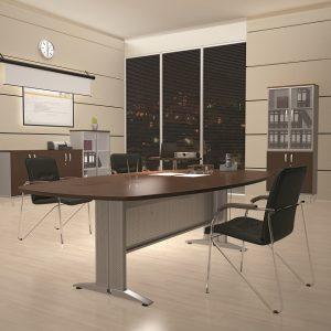 МИЛАН - серия офисной мебели - интерьер №9 купить в Бресте у производителя БЕЛС