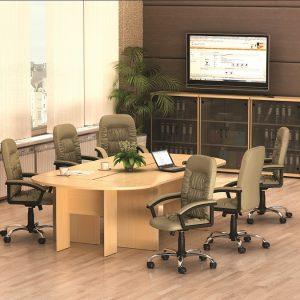 МОНО-ЛЮКС - серия офисной мебели - интерьер №2 купить в Бресте у производителя БЕЛС