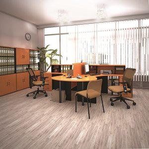 МОНО-ЛЮКС - серия офисной мебели - интерьер №3 купить в Бресте у производителя БЕЛС