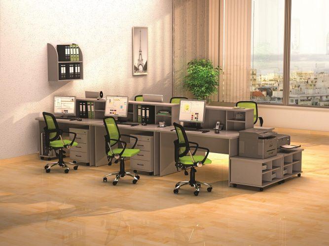 МОНО-ЛЮКС - серия офисной мебели - интерьер №4 купить в Бресте у производителя БЕЛС