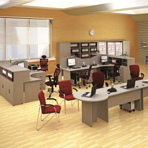 МОНО-ЛЮКС - серия офисной мебели - интерьер №5 купить в Бресте у производителя БЕЛС