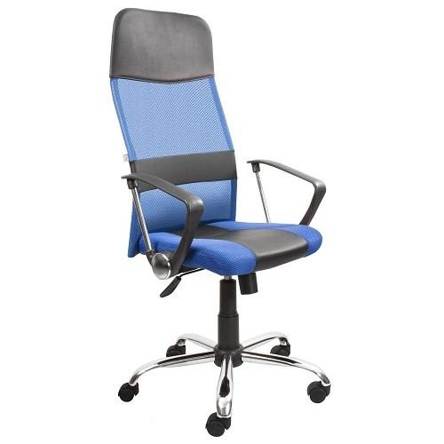 Кресло руководителя Master gtpHCh1 синий/черный купить в Бресте, Минске у производителя БЕЛС