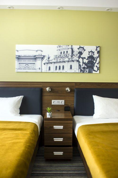 Мебель для гостиницы Hampton By Hilton в Бресте - фото №2. Мебель на заказ от производителя БЕЛС