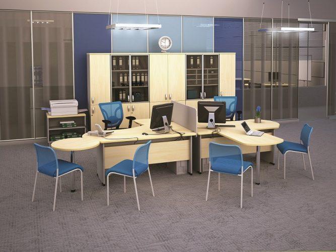БОСТОН - серия офисной мебели - интерьер №2 купить в Бресте у производителя БЕЛС