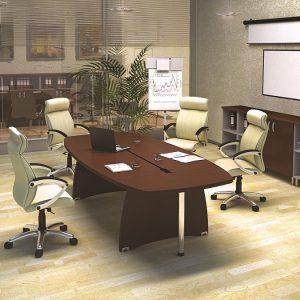 БОСТОН ДИРЕКТОР - серия офисной мебели - интерьер №1 купить в Бресте у производителя БЕЛС