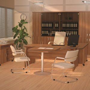 БОСТОН ДИРЕКТОР - серия офисной мебели - интерьер №2 купить в Бресте у производителя БЕЛС