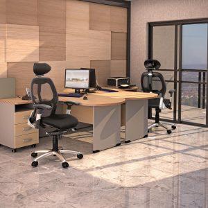 БОСТОН ДИРЕКТОР - серия офисной мебели - интерьер №4 купить в Бресте у производителя БЕЛС