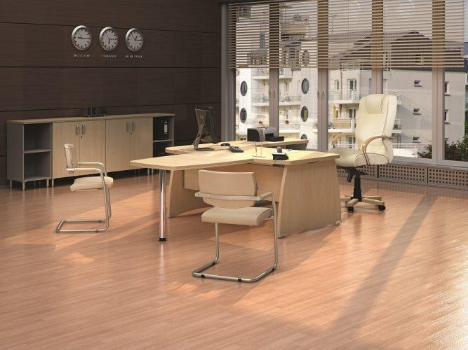 БОСТОН ДИРЕКТОР - серия офисной мебели - интерьер №6 купить в Бресте у производителя БЕЛС