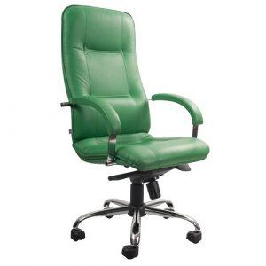 Офисное кресло Star Steel Chrome зеленый купить в Бресте у производителя БЕЛС