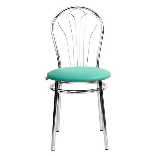 Барный стул Venus Chrome бирюзовый купить в Бресте, Минске у производителя мебели БЕЛС