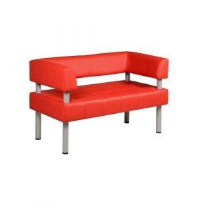 Диван офисный Caravan Arm 2 красный в Бресте - купить у производителя БЕЛС