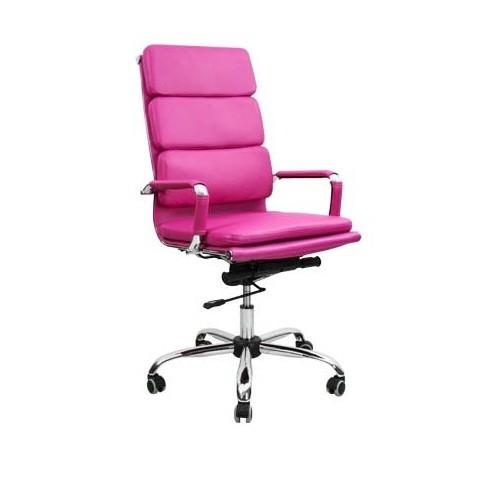 Кресло офисное для персонала Nord Lux фуксия в Бресте - купить у производителя БЕЛС