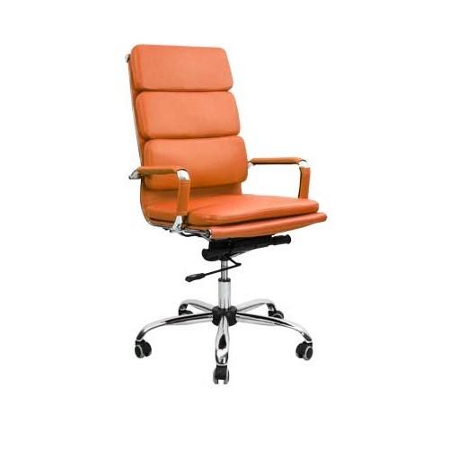 Кресло офисное для персонала Nord Lux терракотовый в Бресте - купить у производителя БЕЛС