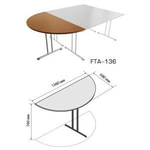 Приставной элемент FTA-136 размеры