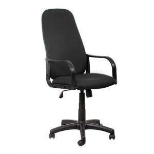 Кресло офисное для персонала Siluet черный купить в Бресте у производителя БЕЛС