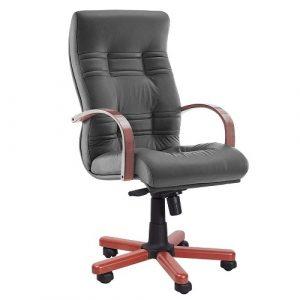 Кресло офисное для руководителя Ambassador Extra серый купить в Бресте у производителя БЕЛС