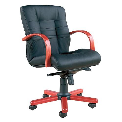 Кресло офисное для руководителя Ambassador Extra LB черный купить в Бресте у производителя БЕЛС