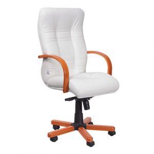 Кресло офисное для руководителя Ambassador Extra молочный купить в Бресте у производителя БЕЛС