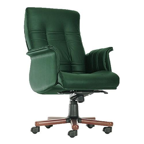 Кресло офисное для руководителя Ambassador темно-зеленый купить в Бресте у производителя БЕЛС