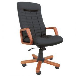 Кресло офисное для руководителя Atlantis Extra черный купить в Бресте у производителя БЕЛС