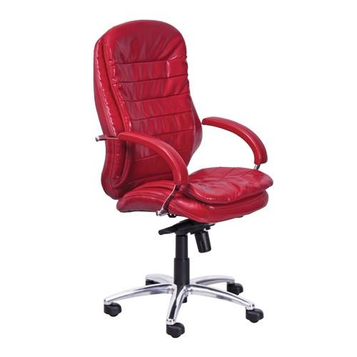 Кресло офисное Montana Alu1 PU-05 малиновый купить в Бресте у производителя БЕЛС