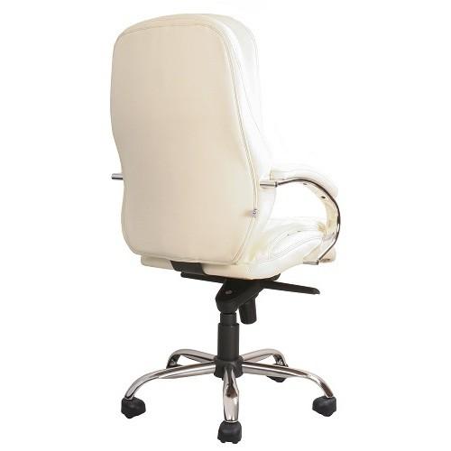 Кресло офисное для руководителя Montana T2 Steel Chrome молочный купить в Бресте у производителя БЕЛС