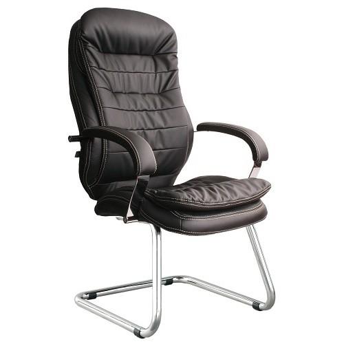 Кресло офисное для руководителя Montana steel chrome CF черный купить в Бресте у производителя БЕЛС