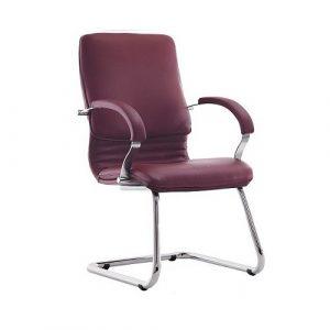 Кресло офисное для руководителя Nova Chrome CF LB PU-1 купить в Бресте у производителя мебели БЕЛС