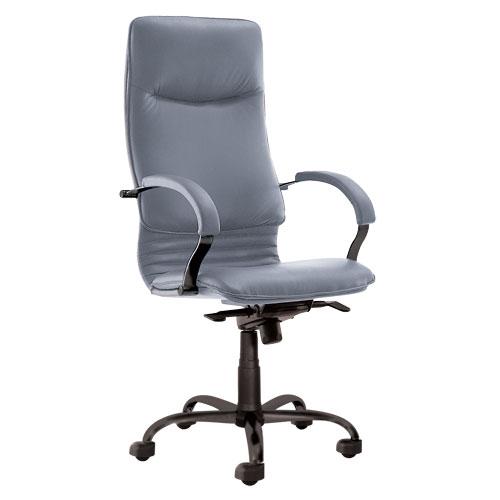 Кресло офисное для руководителя Nova Steel Black купить в Бресте у производителя мебели БЕЛС