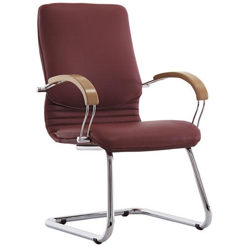 Кресло офисное для руководителя Nova Wood Chrome CF LB купить в Бресте у производителя мебели БЕЛС