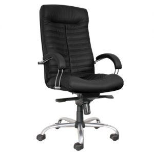 Кресло офисное для руководителя Orion steel chrome черный купить в Бресте у производителя БЕЛС