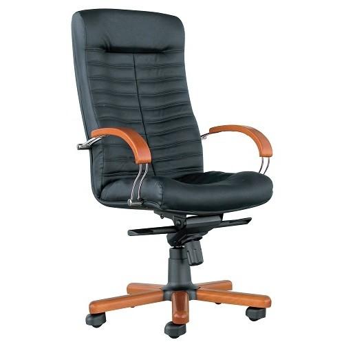 Кресло офисное для руководителя Orion wood chrome LE-A купить в Бресте у производителя БЕЛС