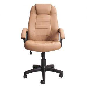 Кресло офисное для руководителя Prima PGcN бежевый вид спереди купить в Бресте у производителя БЕЛС